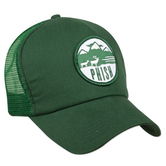 Accessories - Never Worn - Phish Green Trucker hat - Rare 84acb2a389ff